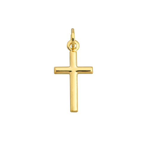 9Kt Yellow Gold Cross Pendant (20mm)